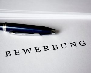Bewerbung